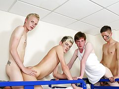 young males with 6 inch hard cocks